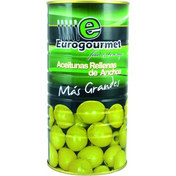 Aceitunas Rellenas Eurogourmet 1,5kg