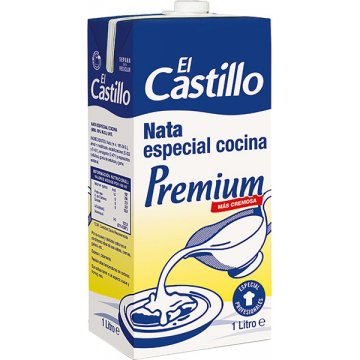 Nata Castillo Cocina Premium Brik Litro