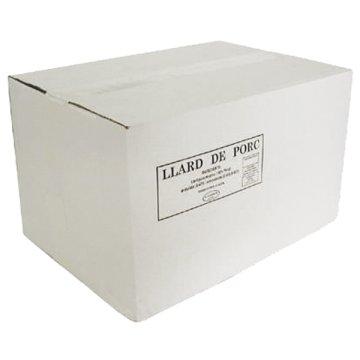 Llard Mantega De Porc Semidura 20 Kg