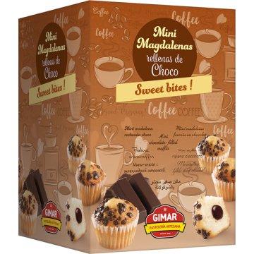 Mini Magdalenas Chocolate Gimar Env Ind 1,5kg