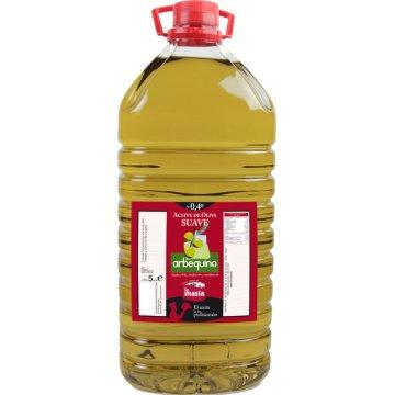 Aceite De Oliva Suave Arbequino 5lt