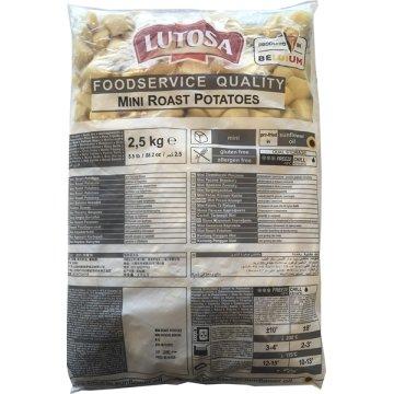 Patatas Bravas Mini Roast Lutosa 2,5kg Cg