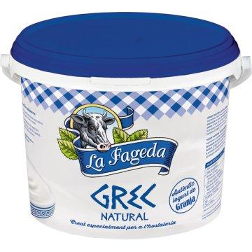 Yogur Griego Natural La Fageda Cubo 3kg