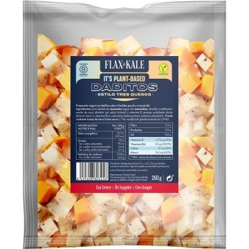 Queso Vegano Daditos 3 Quesos Flax&kale 250gr