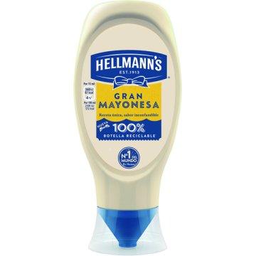 Mayonesa Hellmann's Bocabajo 430ml