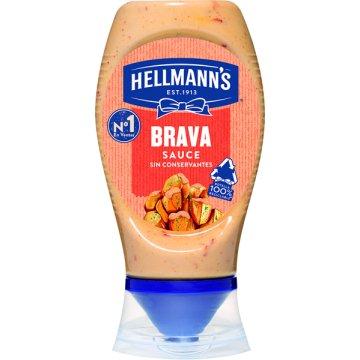 Salsa Brava Hellmans 250ml Bocabajo
