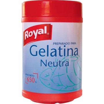 Gelatina Neutra Royal 650 Gr