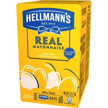 Mayonesa Hellmann's Monoporciones 10ml 200u