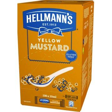 Mostaza Hellmann's Monoporciones 10ml 200u
