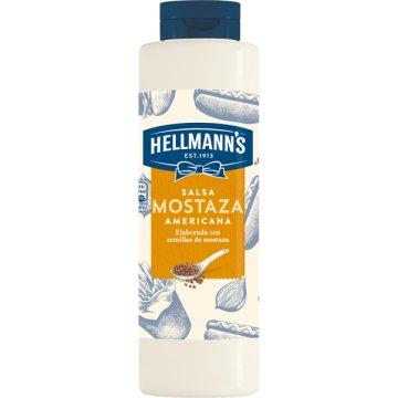 Salsa Mostaza Americana Hellmann's 850ml