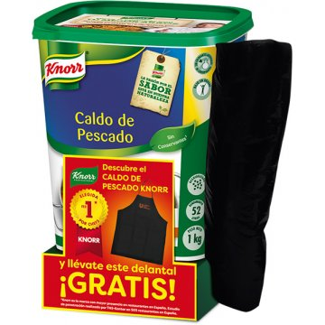 Caldo Knorr Pols Peix 1kg + Devantal