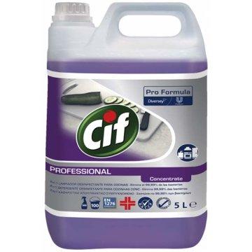 Cif 2 En 1 Desinfectante Concentrado 5lt