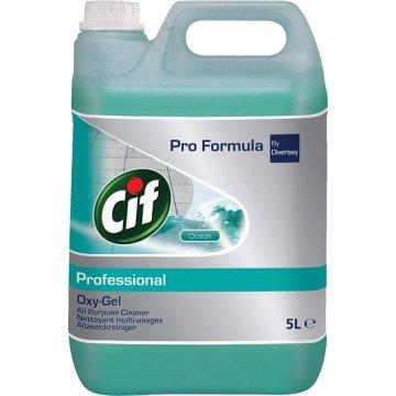 Detergente Cif Oxygel Ocean 5l