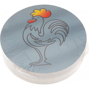 Tapa Carton Bandeja Red Pollo Alta Pack 100