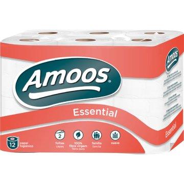 Papel Higienico Amoos 2c 16m P-12