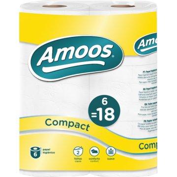 Papel Higienico Amoos 2c 50m P-6