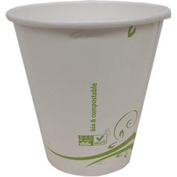 Vasos Cafe 120ml Compostable Paquete 100