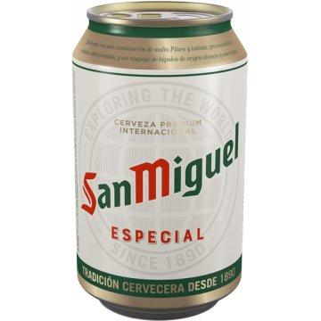 San Miguel 33cl Llauna