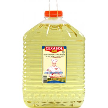 Aceite Girasol Alto Oleico Cexasol 10lt