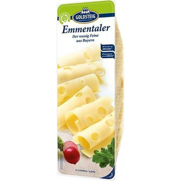 Queso Emmental Lonchas Goldsteig 1kg