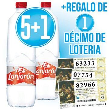 5 Caixes LanjaRom 1,25lt (15 U) + 1 De Regal + Regal D'un Dècim De Lotria