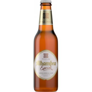 Alhambra Especial Pack-4 Clúster 33cl