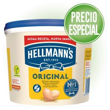 1 CUBELL MAIONESA HELLMANS 5LT A PREU ESPECIAL