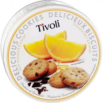 Galletas Chocolate Negro/naranja Tivoli 150gr