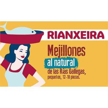 Mejillones Escabeche Rianxeira 12/18 Rr125 P-4