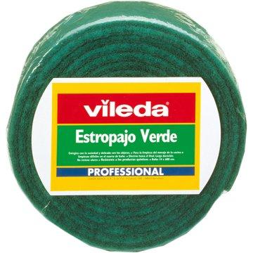 Estropajo Verde Extra Rollo Vileda