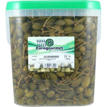 Alcaparrons Eurogourmet Cubell 2,5kg
