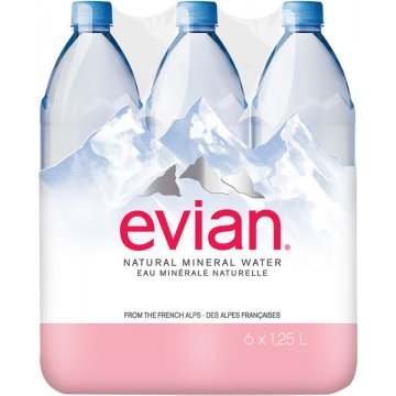 Evian 1250 Pack