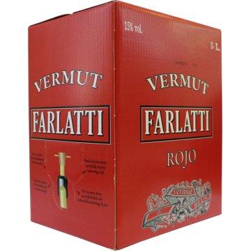 Vermouth Farlatti Negre Box 5lt