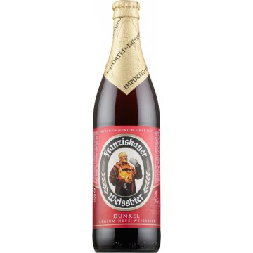 Franziskaner Weissbier Dark 1/2 Botella Sr