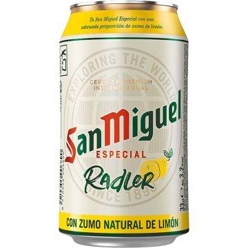 San Miguel Radler Lata 33cl