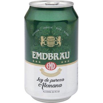 Cerveza Emdbrau Lata 33 Cl (12u)