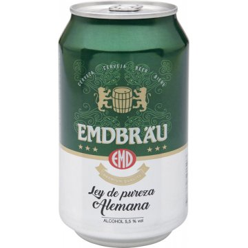 Cerveza Emdbrau Lata 33 Cl