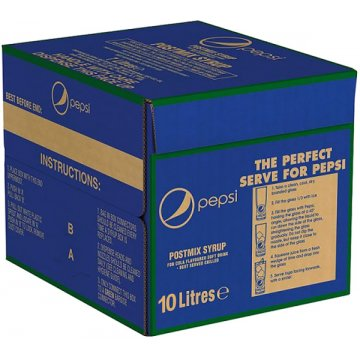 Pepsi 10lt Bag In Box
