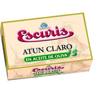 Atún Claro En Aceite De Oliva Escuris 120 Gr
