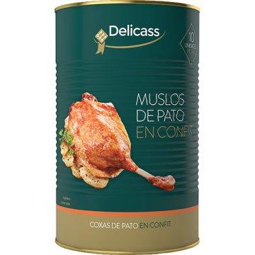 Muslos De Pato En Confitura 10p 3,8kg