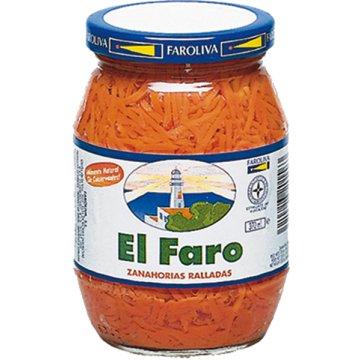 Zanahoria Faro Rallada