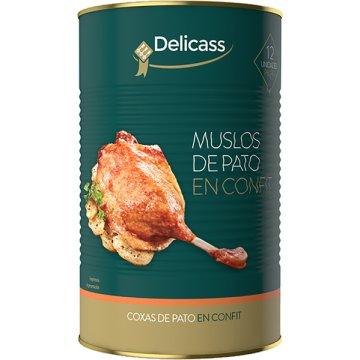 Muslos De Pato En Confit -i- 12 Piezas 4,48kg