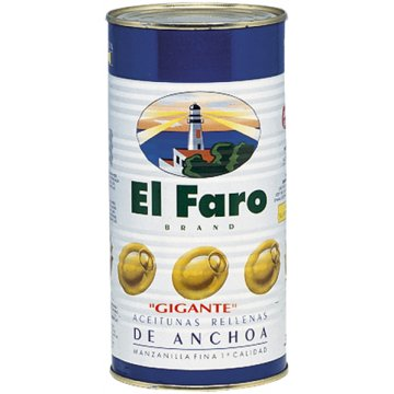 Aceitunas Rellenas Faro Gigantes 2kg