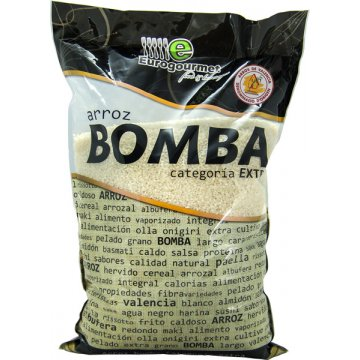 Arroz Bomba Eurogourmet 5kg