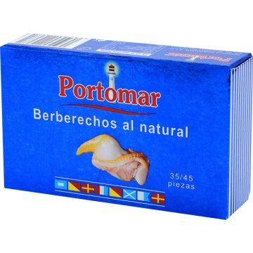 Berberechos Portomar 35/45 Piezas 115gr