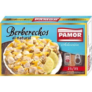 Berberechos Pamor 25/35 Piezas 120gr