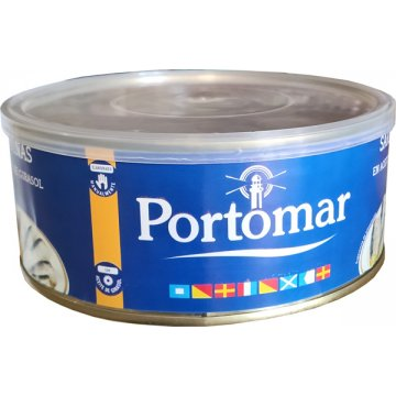 Sardinas Aceite Girasol Portomar Ro1000 25/28