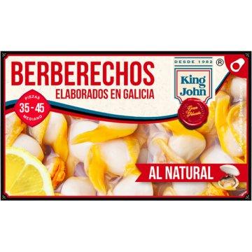 Berberechos King John Rias 35/45 Piezas