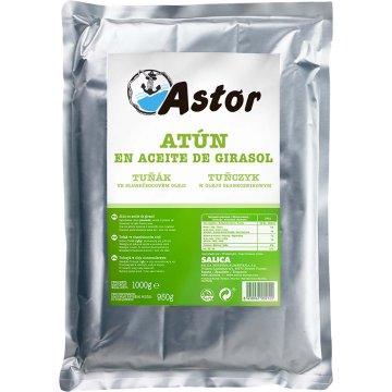 Atun En Aceite Vegetal Astor Bolsa