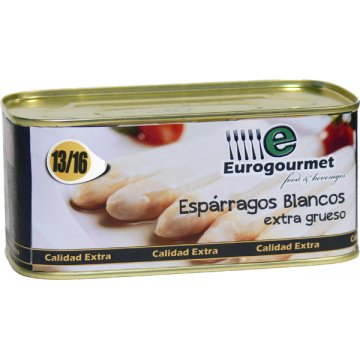 Espàrrec Eurogourmet 13/16 Llauna 1kg